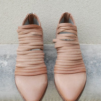 Free People - Lost Valley Ankle Bootie - Tan