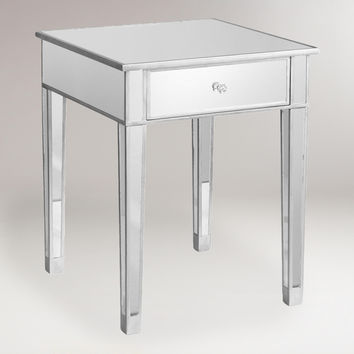 Mirrored Accent Table - World Market