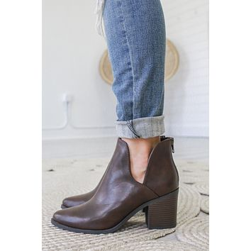 Rubi Booties - Brown