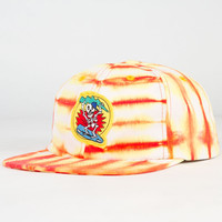 Mowgli Surf Hat Fire Mens Strapback Hat Orange One Size For Men 23181770001