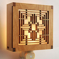 Frank Lloyd Wright Storer House Block Night Light