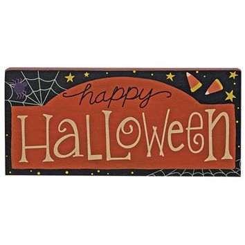 Happy Halloween Sign for Halloween