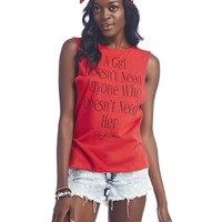 Marliyn Monroe™ Quote Tank | Wet Seal