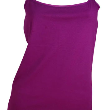 Ann Taylor Camisole Tank Top (Violet Pink)