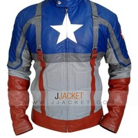 Captain America The First Avengers Leather Jacket