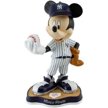 MDIGON 8-Inch Mickey Mouse Figurine - MLB New York Yankees