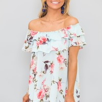 Living The Breezy Life Floral Blouse