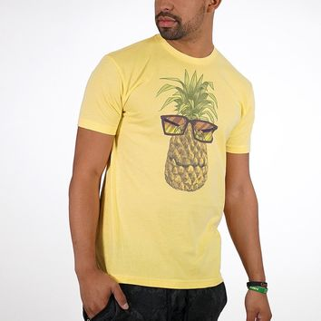 Pineapple Cool Banana Cream Tri Blend T-Shirt
