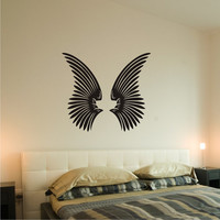 Angel Wings Wall Decal Removable Vinyl Wall Art 0159