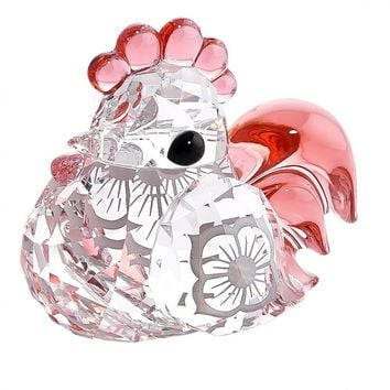 Swarovski Color Crystal Figurine ZODIAC KO KO THE ROOSTER #5004620