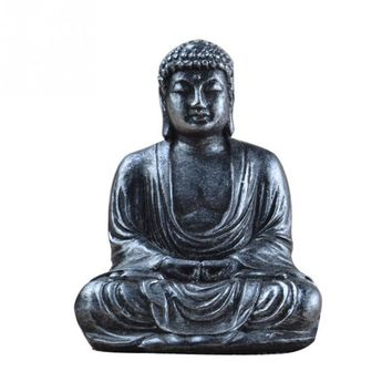 Mini Harmony Innovative Exquisite Buddha Statue Resin Valuable Sculpture Meditating Antique Style Home Decor