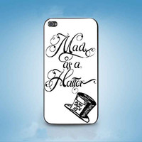 Hatter Alice in Wonderland customized for iphone 4/4s/5/5s/5c ,samsung galaxy s3/s4/s5 and ipod 4/5 cases
