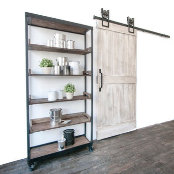 Custom Built Rustic Sliding Barn Farm Door