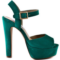 Steve Madden's 12 Dynemite - Mint Green for 109.99 direct from heels.com