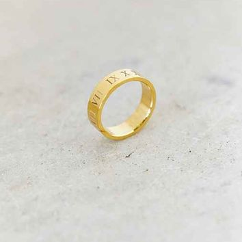 Mister Caesar Ring- Gold