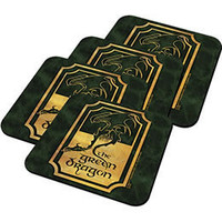 The Lord of the Rings Green Dragon Coaster Set: WBshop.com - The Official Online Store of Warner Bros. Studios