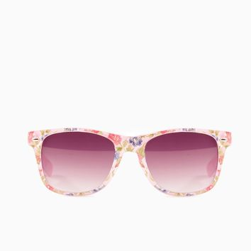 ShopSosie Style : Rosy Posy Sunglasses in Pink