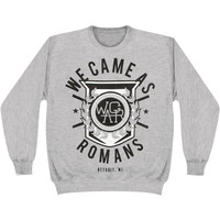 We Came As Romans Men's  Detroit Crest Sweatshirt Grey Rockabilia