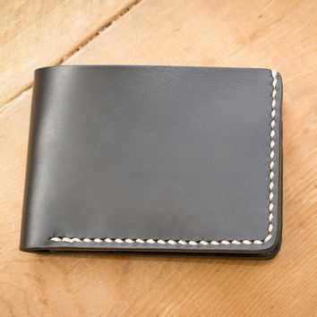 Black Traditional Leather Wallet
