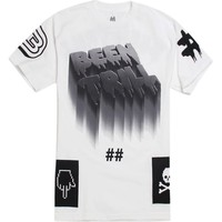 Been Trill Night Glow T-Shirt - Mens Tee - White