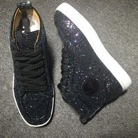 ONETOW Cl Christian Louboutin Style #2281 Sneakers Fashion Shoes