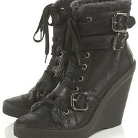 ASHER2 Fur Lined Boots - Last Chance To Buy - Shoes - Topshop USA