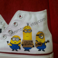 Minion Shoes Converse - Funny moments - BlingLogo