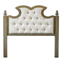 Uttermost Radcliff Tufted King Headboard - 23701