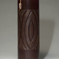 Wood Effect - Hand Carved - Tall