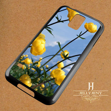 Yellow Mountain Flowers Samsung Galaxy S3 S4 S5 S6 S6 Edge Case | Galaxy Note 3 4 Case
