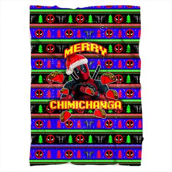 Merry Chimichanga Blanket