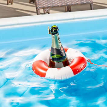 Cool Emergency Ring Inflatable Drink Holder Large