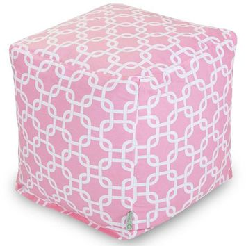 Majestic Home Goods Links Indoor Cube/Ottoman