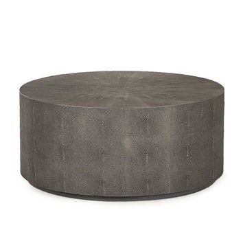 "Tabbart 36"" Round Cylinder Coffee Table"