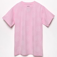 ODD FUTURE Allover Donut T-Shirt - Mens Tee - Pink