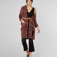 FREE PEOPLE HALF MOON DUSTER CARDIGAN
