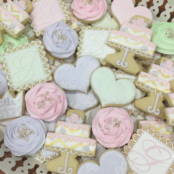 Bridal Shower/ Wedding/ Birthday Cookies