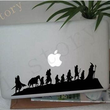 Free shipping The Lord of The Rings - Caravan - Vinyl Wall Decal Sticker fantasy movie art cool car laptop wall decor
