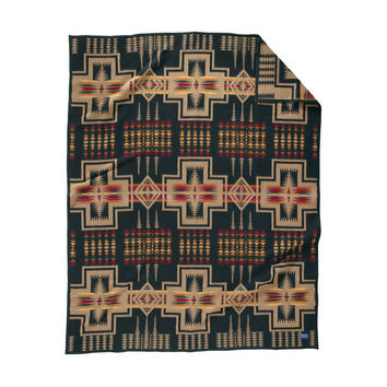 Trailside Felt-Bound Blanket by Pendleton