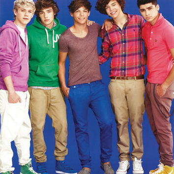 One Direction Blue Poster
