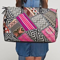 Patchwork Tapestry Boho Artisan Weekender Bag