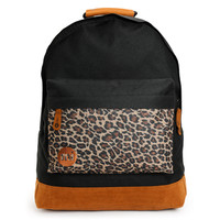 Mi-Pac Black & Leopard Backpack
