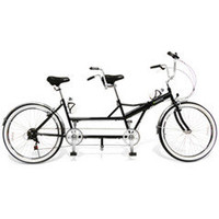 The Folding Tandem Bicycle - Hammacher Schlemmer