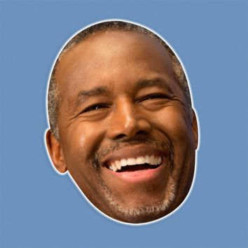 Happy Ben Carson Mask by RapMasks