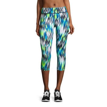 Xersion™ Short-Sleeve Studio Graphic Tee or Print Capris - JCPenney