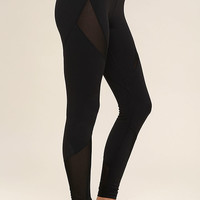Stylish Stride Black Leggings