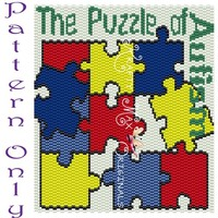 The Puzzle of Autism - PATTERN ONLY - Krafty Max Original Design