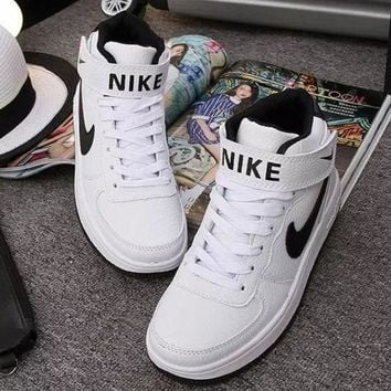 NIKE Woman Fashion High Tops Ankle Boots Running Sneakers Sport Shoes G-1