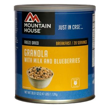 Granola/Blueberry & Milk 20serv Can
