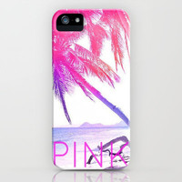 PINK iPhone & iPod Case by Kristi Kaz